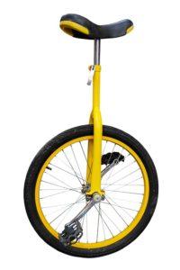 balancieren lernen auf dem einrad